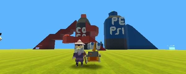Jogo Kogama – Dentro da Coca-Cola e PSPSI com [Mini – Games] Online Gratis